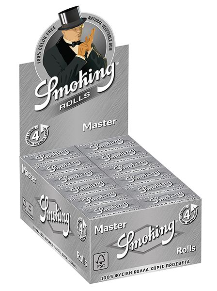 Smoking Master Rolls pack of 24 units