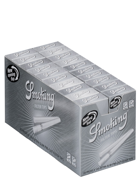 Smoking FILTERS Master STICKS 5 5mm Pack of 20 boxes