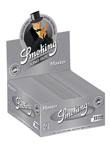 Smoking MASTER king size Pack of 50 booklets