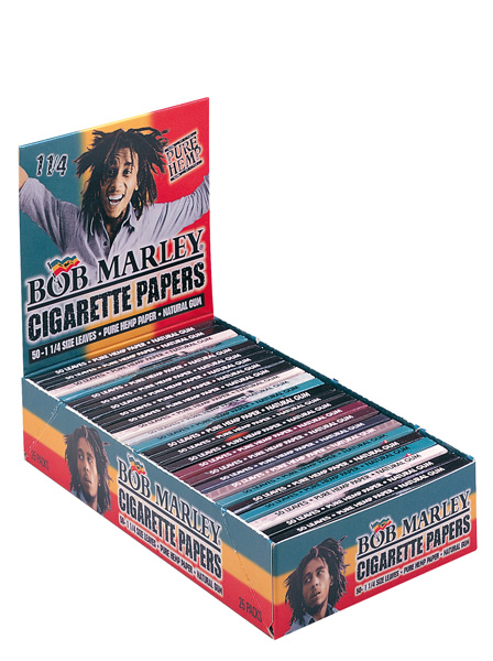 Bob Marley medium Hemp 15 collectible designs pack of 25 booklet