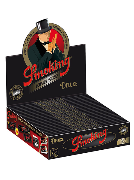 SMOKING DELUXE KING SIZE PACK of 25 UNITS