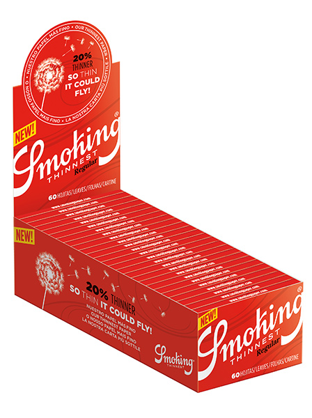 Smoking Red thinnest SMALL pack of 50 units