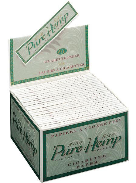 Pure Hemp King Size pack of 50 booklets