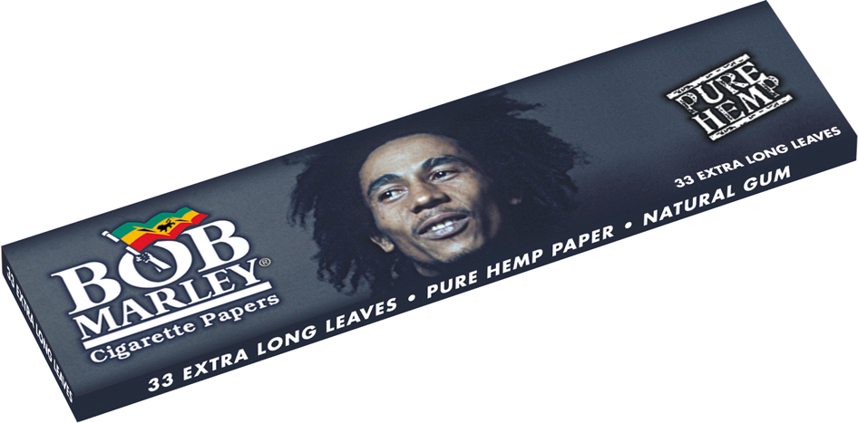 bob marley king size hemp 15 collectible designs pack of 50 book